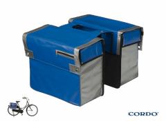 Cordo Express - Dubbele Fietstas - 30 l - Blauw