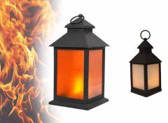 Benson LED Lantaarn - Flame Effect