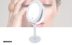 Benson make-up spiegel met LED ring