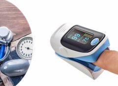 Fingertip Pulse Oximeter - Hartslagmeter - Blauw