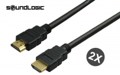 Soundlogic HDMI kabel - 2 stuks