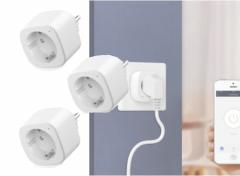 Woox R6080 Smart Plug - Slimme stekker - 3 stuks