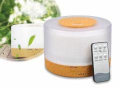 4-in-1 aroma diffuser: luchtbevochtiger, aromatherapie, luchtreiniger en lamp