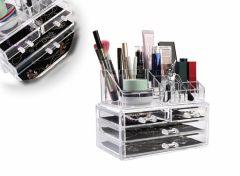 Make-up organizer - Met 4 lades en 16 opbergvakjes
