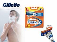Gillette Fushion Scheermesjes - 8 pack