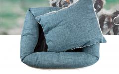 Luxe wasbare hondenmand - Dubbelzijdig gebruik - 70x60x14
