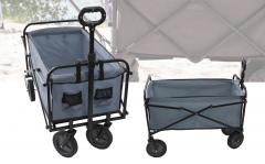 Bolderwagen/bolderkar - max. 70kg - grijs