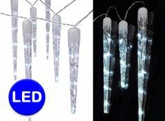 IJspegel led-verlichting - 10 ijspegels aan je raam
