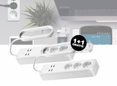 Woox R4027 Smart Multi-plug/ slimme stekkerdoos 1+1 Gratis