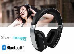 Stereoboomm HP600 opvouwbare koptelefoon- Topkwaliteit over-ear headset